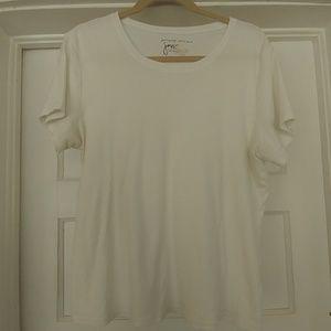 Just My Size - white stretch tshirt